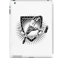 basketball shield iPad Case/Skin