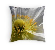 Pistels and Stigmas Throw Pillow
