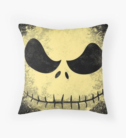 jack in the night Throw Pillow