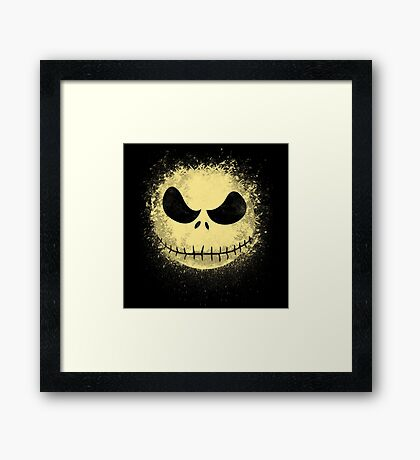 jack in the night Framed Print