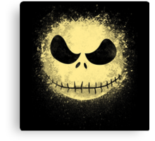 jack in the night Canvas Print