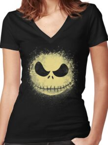 jack in the night Women's Fitted V-Neck T-Shirt