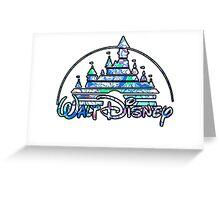 Disney Castle Greeting Card