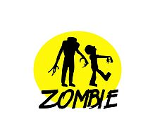 Zombies moon Photographic Print