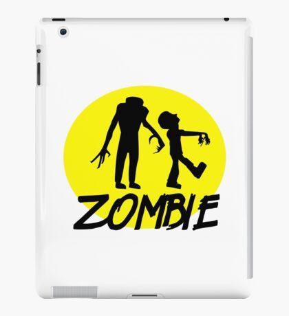 Zombies moon iPad Case/Skin