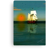 ~ BON VOYAGE / GOD'S SPEED ~ Canvas Print