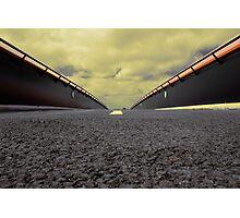 Orange Crossover Photographic Print