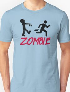 Zombie running person Unisex T-Shirt