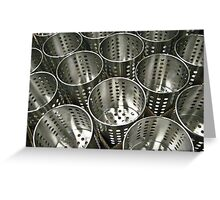 stainless 2 Greeting Card