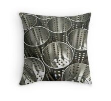 stainless 2 Throw Pillow