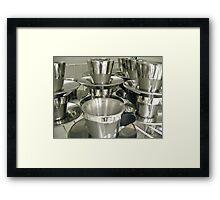 stainless 1 Framed Print