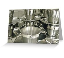 stainless 1 Greeting Card
