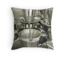 stainless 1 Throw Pillow