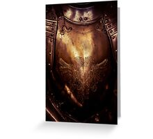 Golden Knight Greeting Card