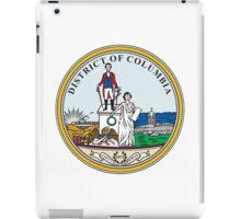 Seal of Washington DC iPad Case/Skin