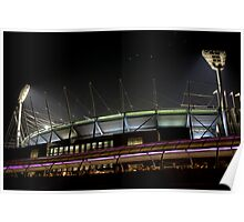 the Mighty MCG Poster