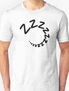 Sleeping tired zzz Unisex T-Shirt