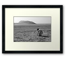 Secret Weapon Framed Print