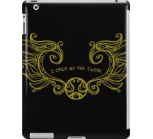 I Open at the Close - Gold Version iPad Case/Skin