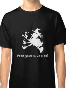 Feels good to be free in Dark < innerWitch Story - Step 7 Classic T-Shirt