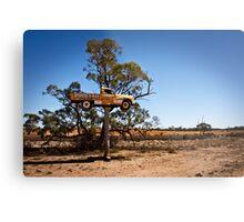 Outback Advertising Metal Print