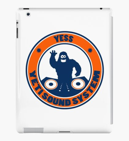 Yeti dj iPad Case/Skin