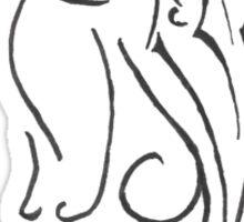 Pagan Cat Tattoo Sticker