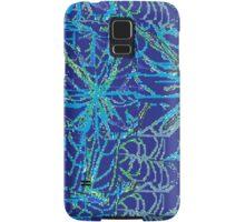 Blue Weeds Samsung Galaxy Case/Skin