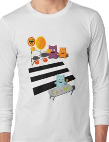 Stop! Lolly time! Long Sleeve T-Shirt