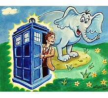 Horton hears a Dr. Who Photographic Print
