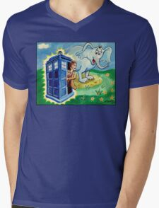 Horton hears a Dr. Who Mens V-Neck T-Shirt