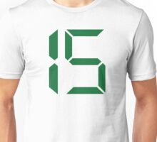 Number 15 fifteen Unisex T-Shirt