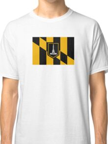 Flag of Baltimore Classic T-Shirt
