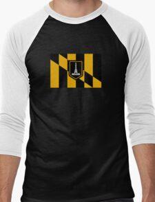 Flag of Baltimore Men's Baseball ¾ T-Shirt