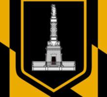Flag of Baltimore Sticker