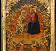 Niccolò di Buonaccorso (Italian, active Siena by 1372–died 1388 Siena) The Coronation of the Virgin c1380 by Adam Asar