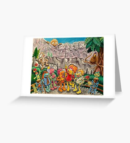 Scenic lookout at Fraggle Rock Greeting Card