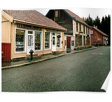 Old Lillehammer  Poster