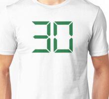 Number 30 Unisex T-Shirt