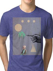 Surprise - Modern Abstract Tri-blend T-Shirt