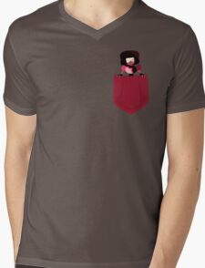 Little Garnet Mens V-Neck T-Shirt