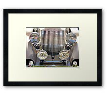 Headlights  Framed Print