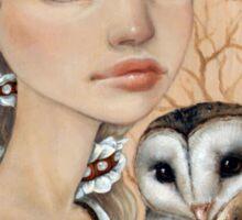 Owl Maiden Sticker