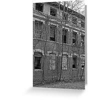 School House ca 1880's Greeting Card