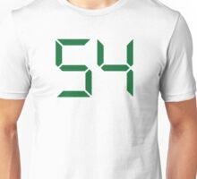 Number 54 Unisex T-Shirt