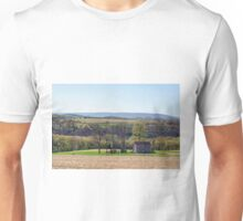 April Afternoon At The Farmhouse Unisex T-Shirt