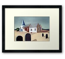 Hinxhill Church Framed Print