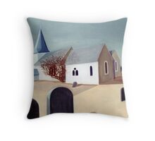 Hinxhill Church Throw Pillow