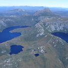 Cradle Mt aerial views, Tasmania by gaylene