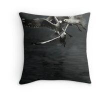 Inflight Throw Pillow